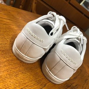 Girls Burberry sneakers NEW